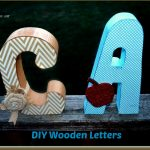 FUN DIY Wooden Letter