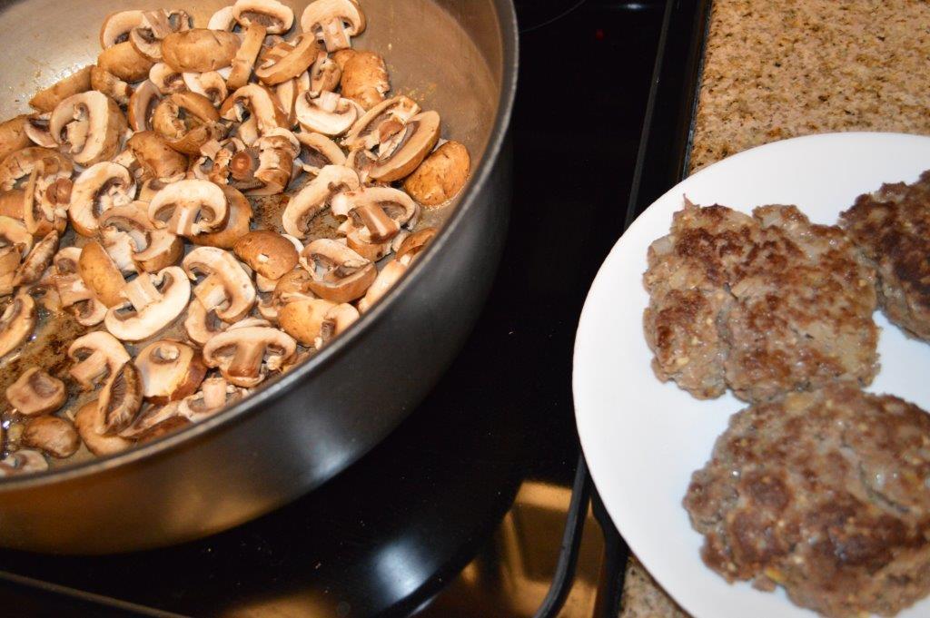 Salisbury Steak and Mushroom Gravy 4