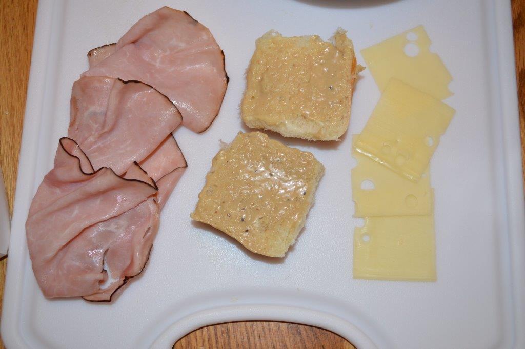 Warm Cheese & Ham Sliders 3