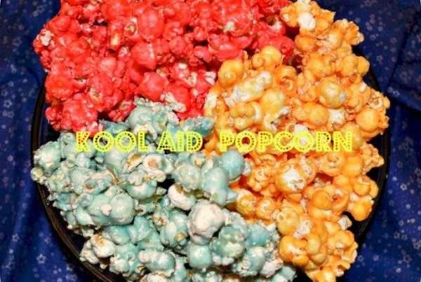 Kool Aid Popcorn