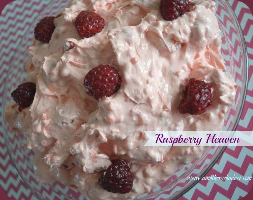 Raspberry Heaven Salad or Dessert