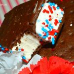 Patriotic Ice Cream Sandwich