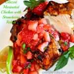Chicken with Balsamic Glaze & Strawberry Relish