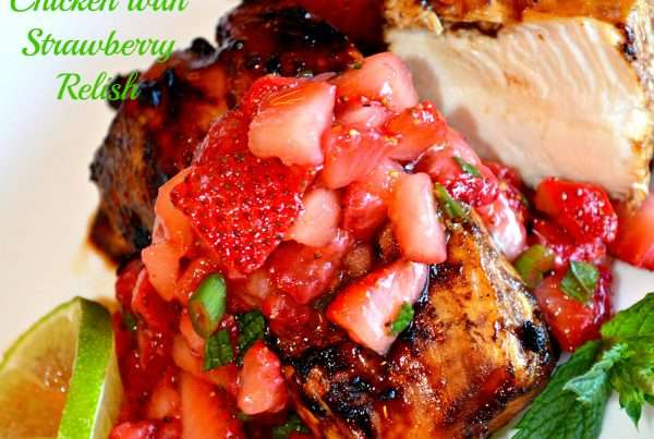Balsamic Chicken & Strawberry Relish
