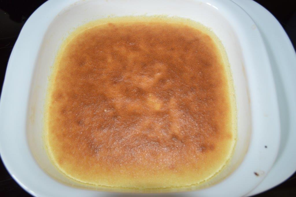Tasty Lemon Cake Flan