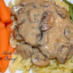 Salisbury Steak & Mushroom Gravy
