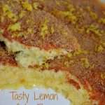 Easy Lemon Cake-Flan