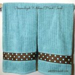 Lost Art of Sewing: DIY Personalized Kitchen/Hand Towel