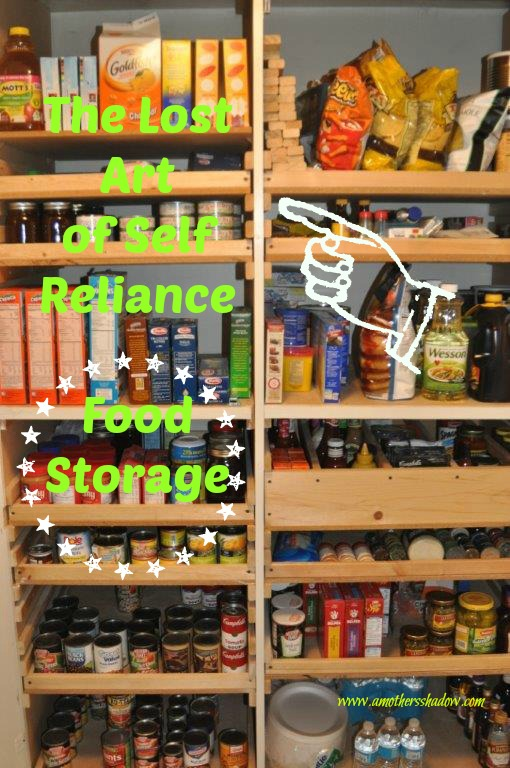 The Lost Art of Self Reliance – Food Storage