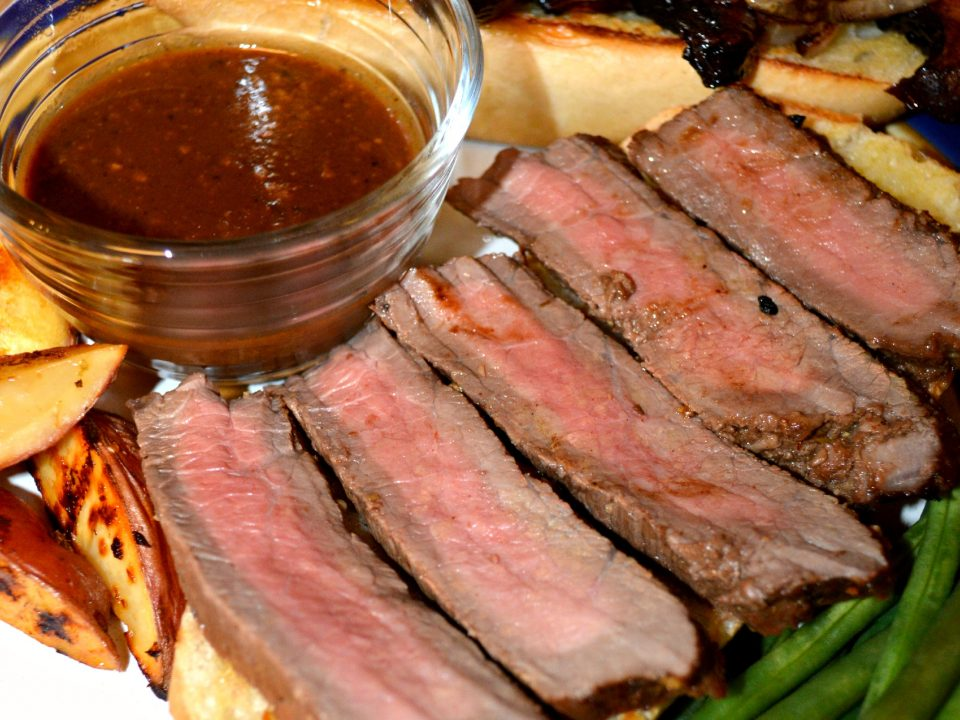 Marinated Steak Sandwich