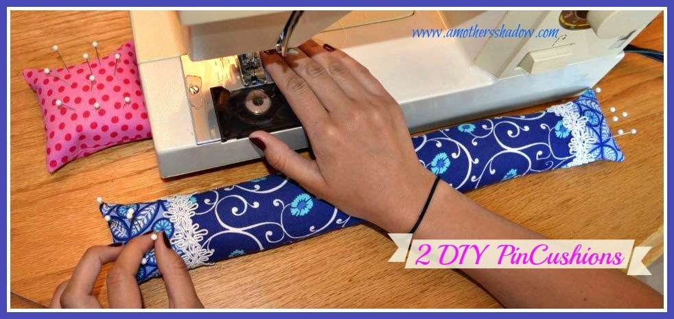 Learn To Sew 2 Types of Pin Cushions