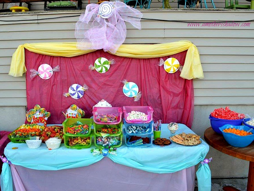 Candy Land Theme B-Day Party 6