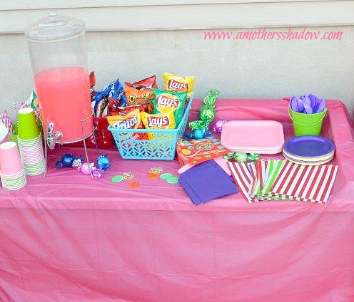 Candy Land Theme B-Day Party 7