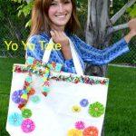 DIY Yo-Yo Tote