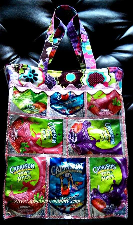 Learn To Sew CAPRI SUN TOTE
