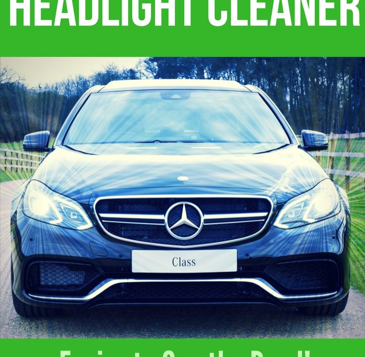 Homemade Vehicle Headlight Cleaner