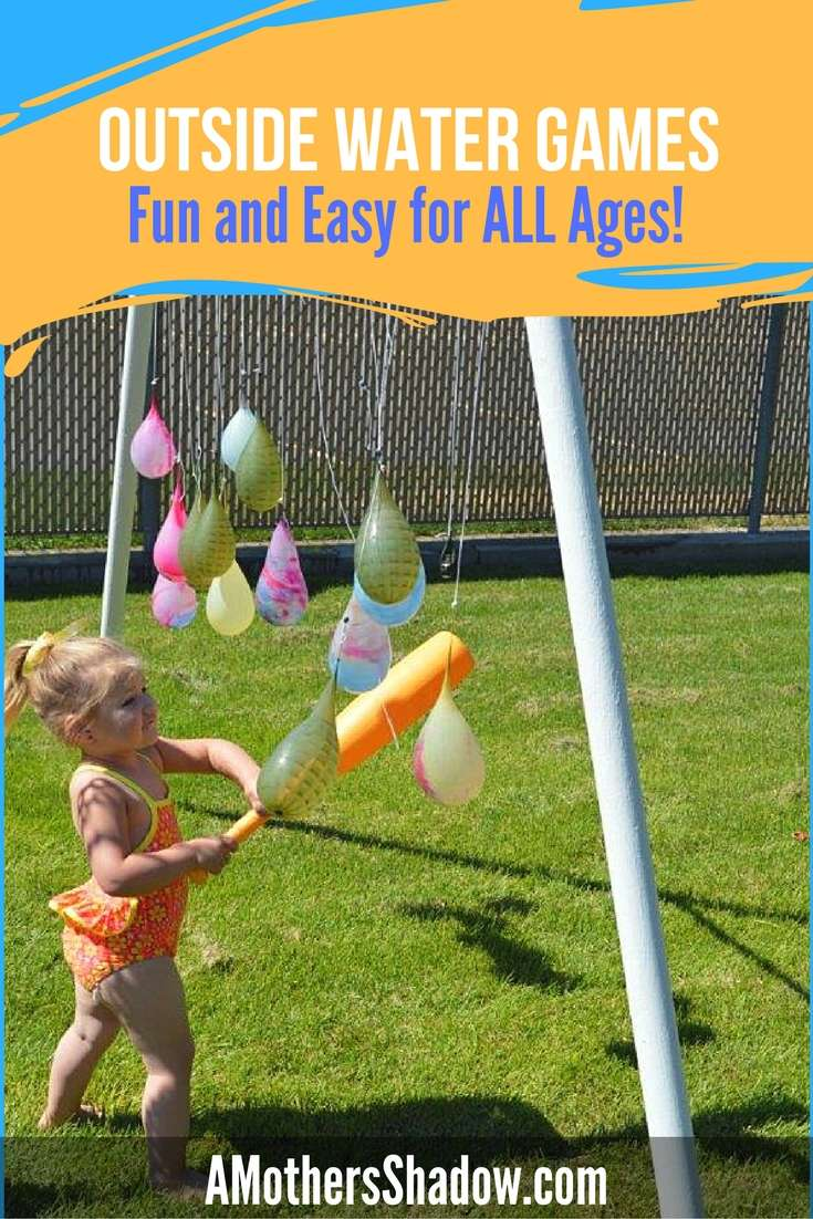 EASY Water Games for EVERYONE!