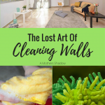 Easy Way To Clean Your Walls!