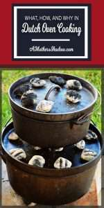 every time success cooking in your dutch oven using coals. Black Bedroom Furniture Sets. Home Design Ideas