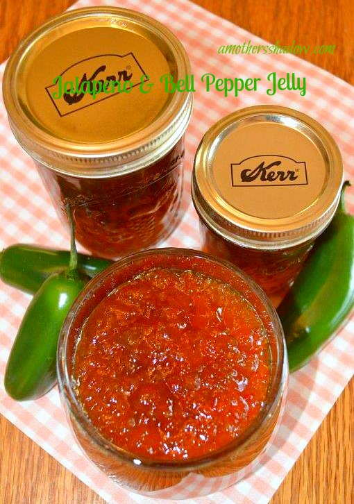 JALAPENO and BELL PEPPER JELLY