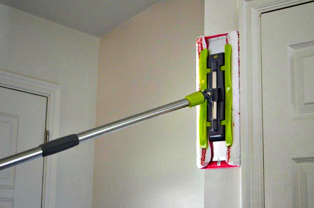 The best way to clean your walls with tips and helps