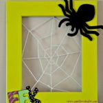 Friendly Spidery Web Frame