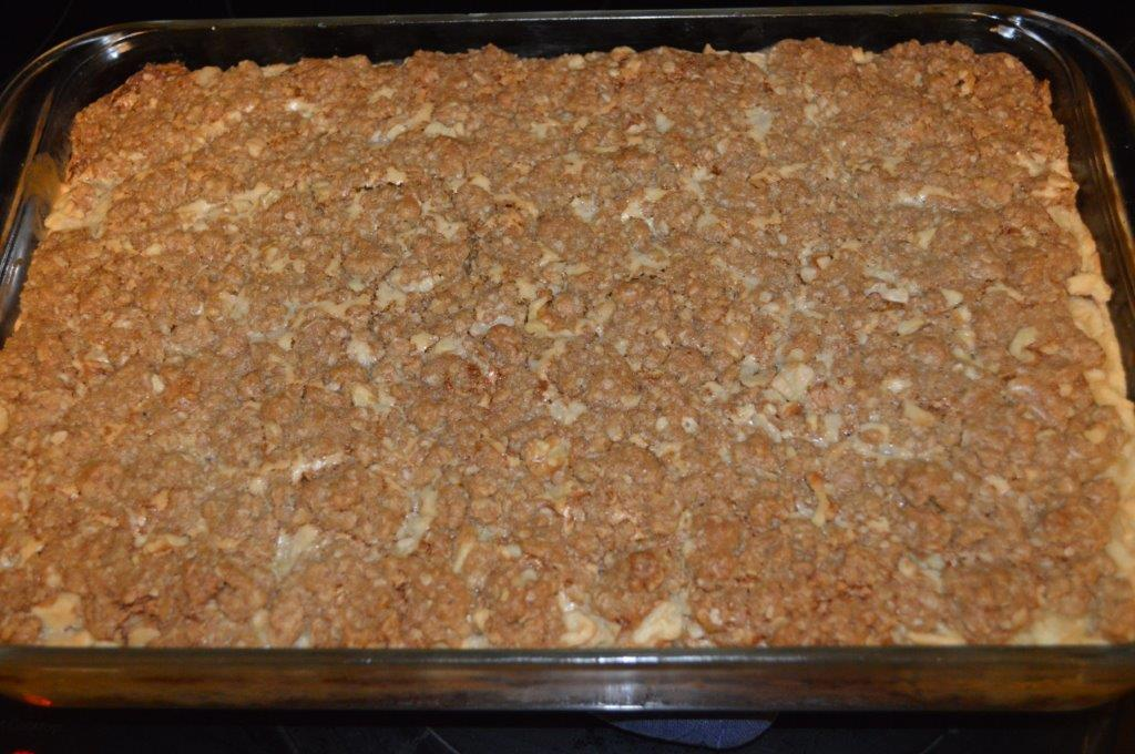 Sour Cream Apple Bars 8
