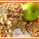 Sour Cream Apple Bars