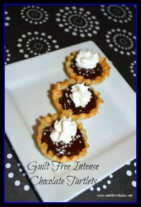 Guilt Free Intense Chocolate Tartlets