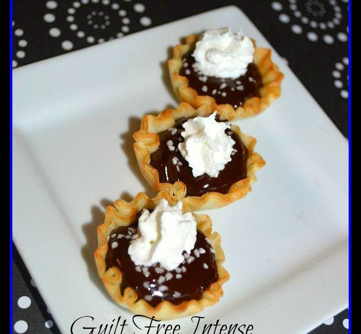 Guilt Free Intense Chocolate Tartlets