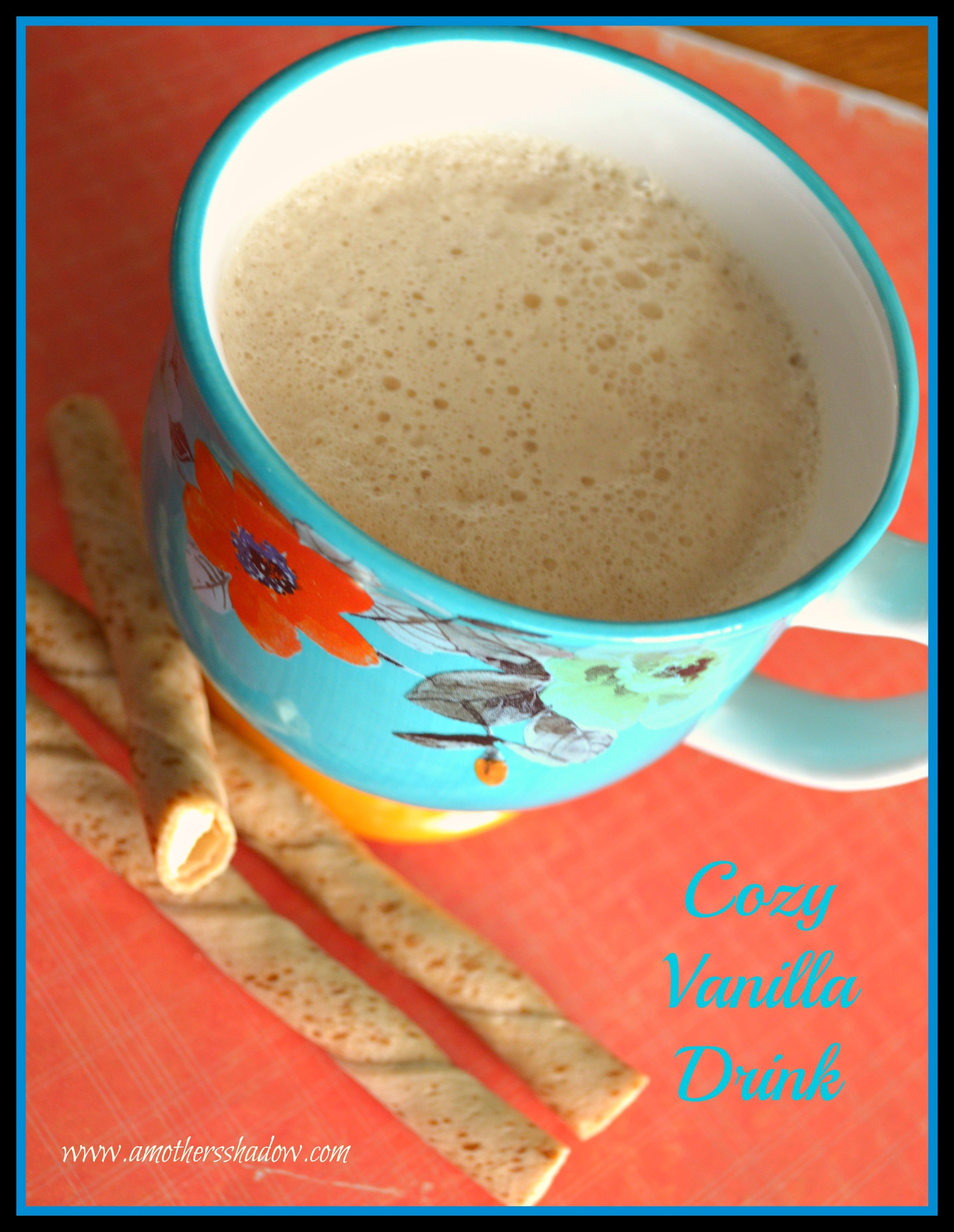 Cozy Vanilla Drink 1