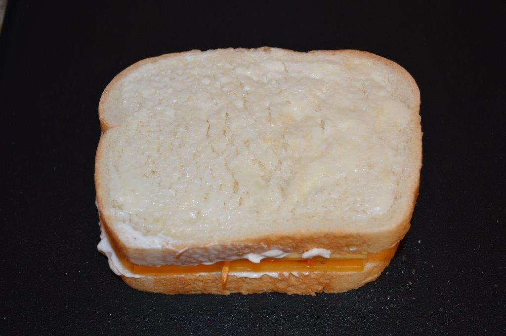 Buffalo Chicken & Grilled Cheese Sandwich 6