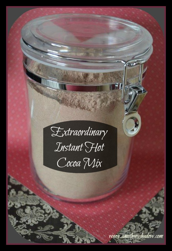 Extraordinary Instant Hot Cocoa Mix