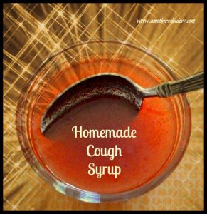 Homemade Cought Syrup 1
