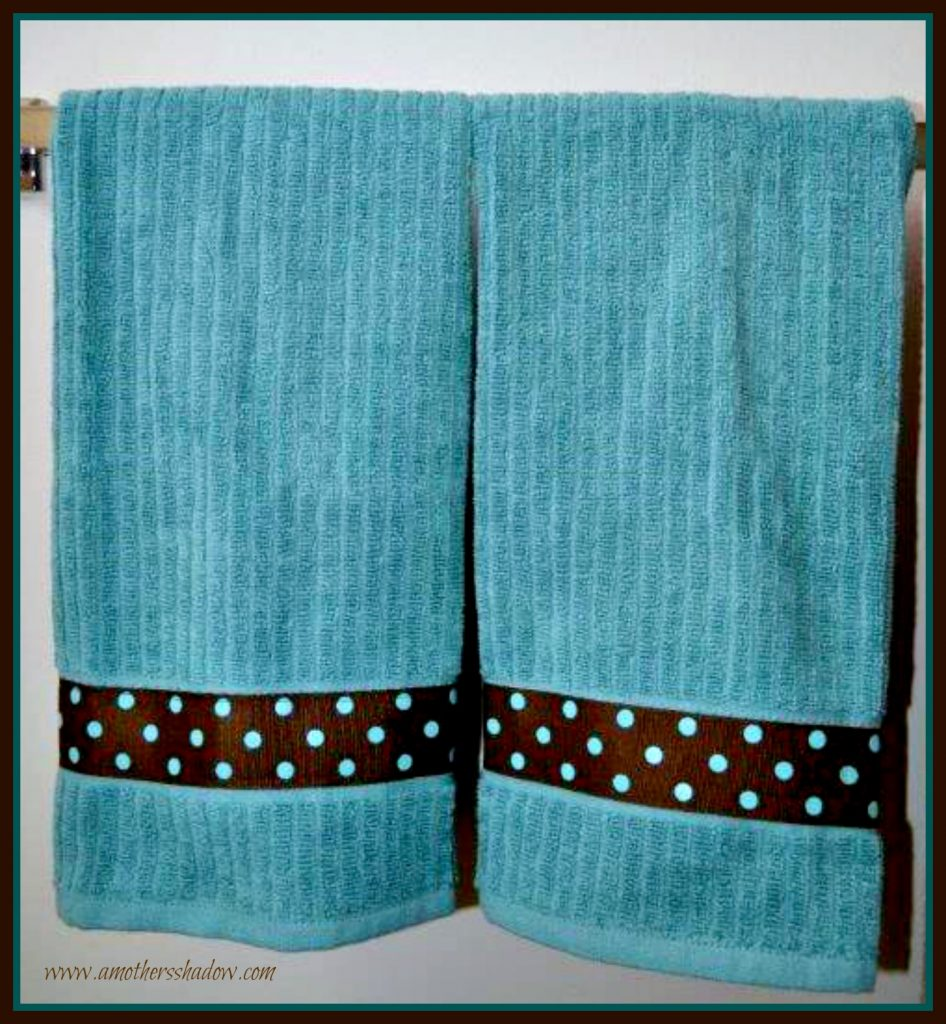 DIY Personalized Kitchen/Hand Towel