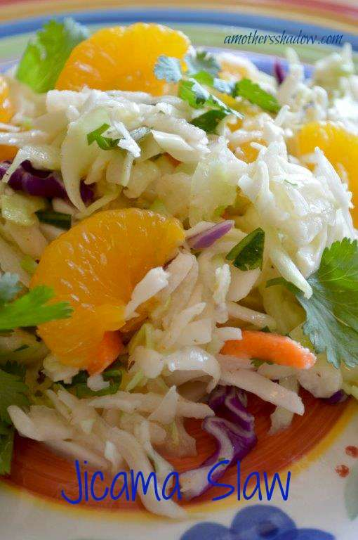 Cabbage and Jicama Slaw