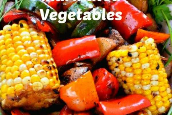 Grilled Marinated Vegetables
