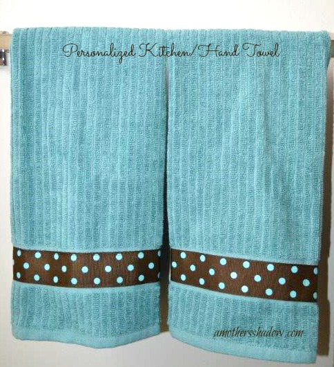 Personalized Hand Towel