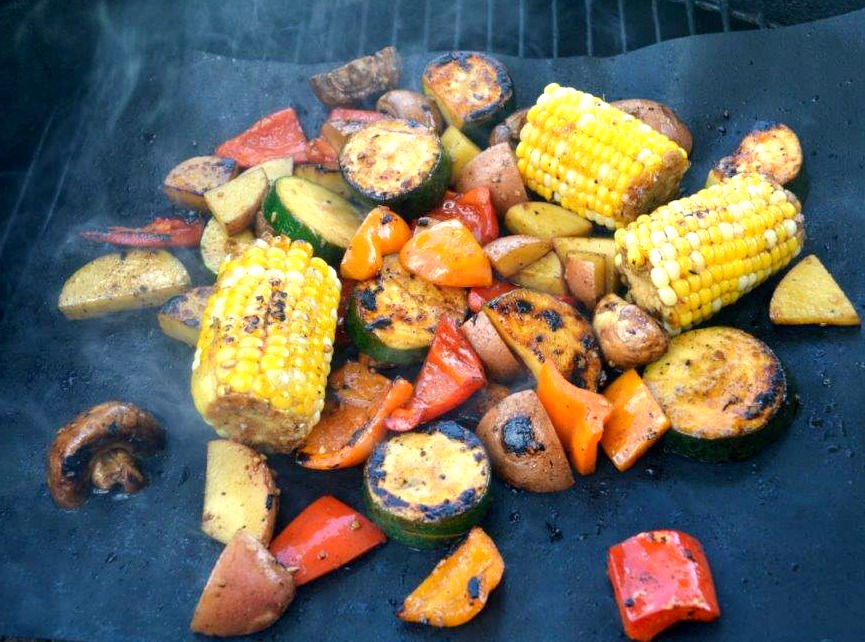 BBQ Grill Mat Vegetables