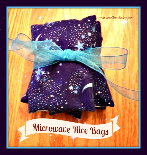 No Sew Easy Sew Rice Microwave Heating Bags