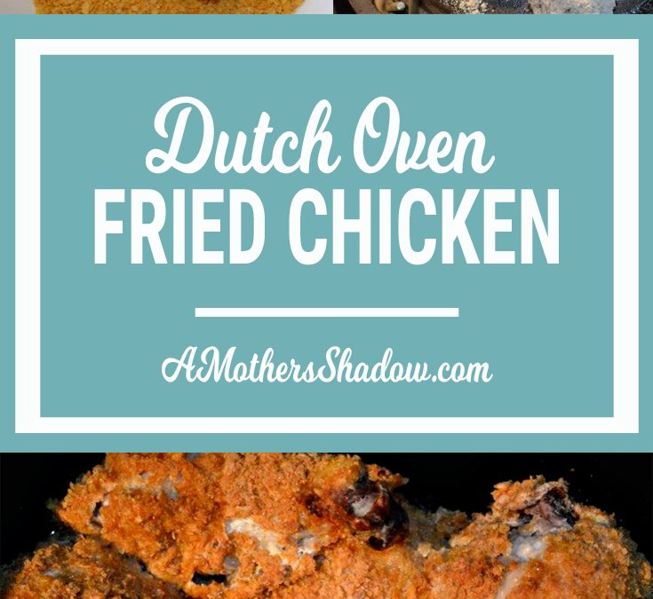 Fried Chicken in a Dutch oven