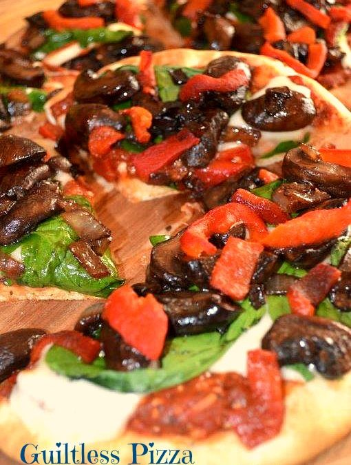 Guiltless Full Flavor Pizza