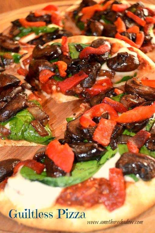 Guiltless Full Flavor Pizza