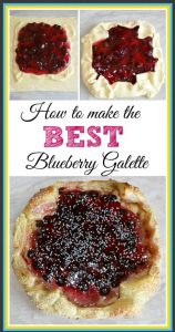 BEST Blueberry Galette