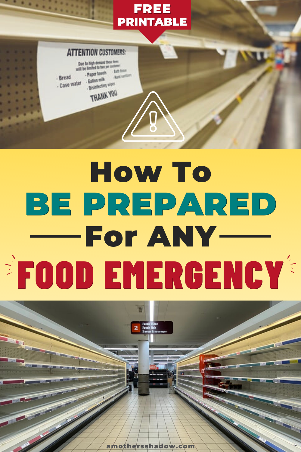 Be Prepared For Any Food Emergency And Easily Build A 2 Week Supply