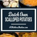 Recipe for Dutch Oven Scalloped Potatoes