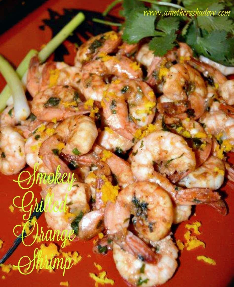 SASSY Grilled Orange Shrimp
