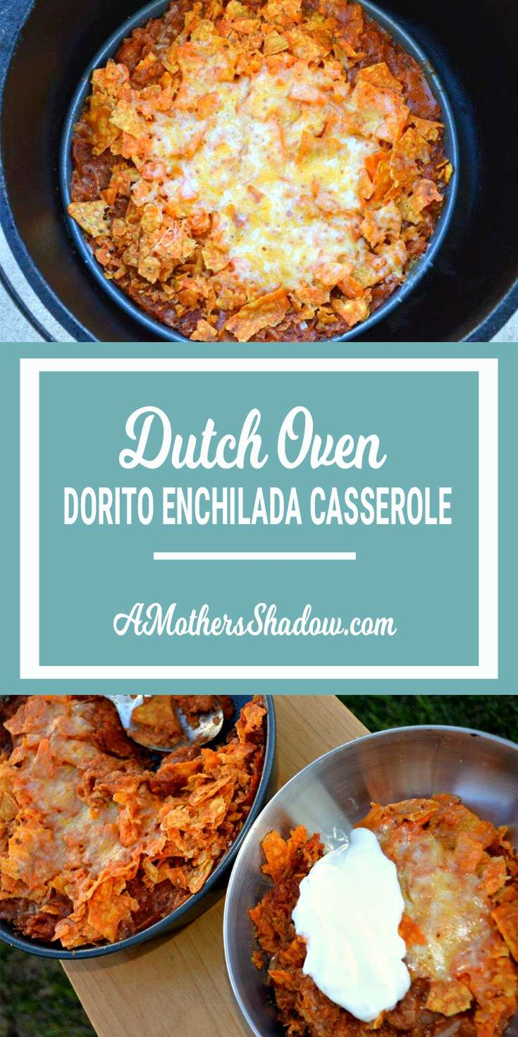 Enchilada Casserole in the Dutch Oven