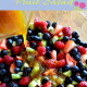 Salad made with Fresh Fruit