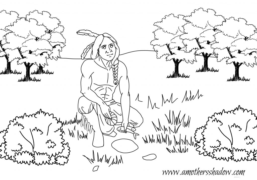 Funky Squanto Coloring Page Elaboration Framing Coloring Pages